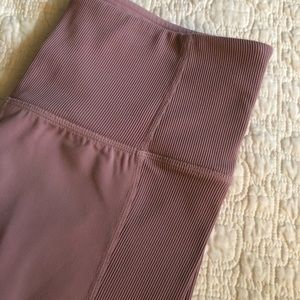 Athleta Barre Rib tights